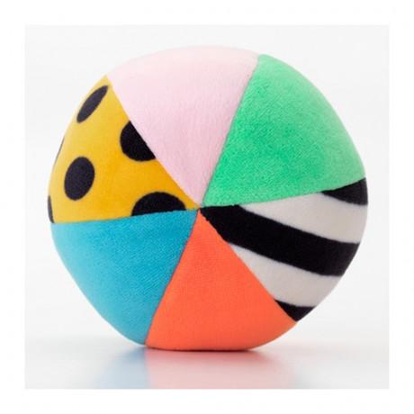 Мягкая игрушка,мяч КЛАППА разноцветный фото 1